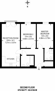 Large floorplan for Furmage Street, Earlsfield, SW18