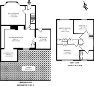Large floorplan for Yew Tree Drive, Guildford, GU1