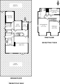 Large floorplan for Norman Crescent, Pinner, HA5