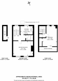 Large floorplan for Crayford Road, Tufnell Park, N7