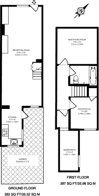 Large floorplan for Nelson Road, Harrow on the Hill, HA1