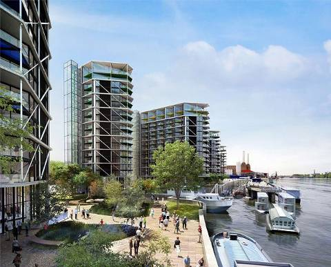 Example image. View full details for Riverlight, Nine Elms, SW8