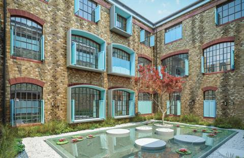 Example image. View full details for Chevron Apartments, Bermondsey, SE1